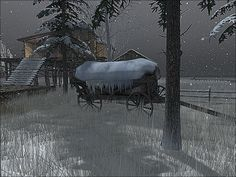 https://flic.kr/p/22vuVXP | BinemustSnow -  Ice Wagon | Visit this location at Binemust in Second Life