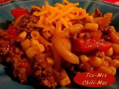 Tex-Mex Chili Mac http://www.momspantrykitchen.com/tex-mex-chili-mac.html