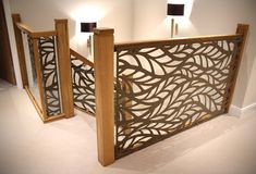 Balustrade infill - Laser cut screens - Frond design by Miles and Lincoln. www.milesandlincoln.com
