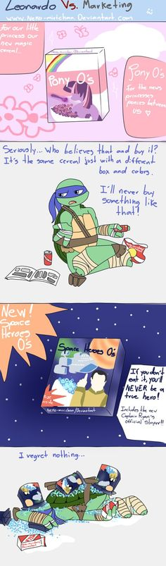 Leonardo VS Marketing by Neko-mirichan on deviantART