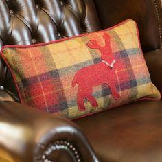 Seasonal Stag Cushion