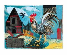 Cockerel by Mark Hearld