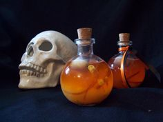 laurie cabot limited edition hallows eve spell potion only 13 will be made coming soon ! www.theofficialwitchshoppe.net Wiccan Spells, Magick, Witch Queen, Witch Herbs, Eclectic Witch, Sabbats, Skull And Bones, Samhain, Hallows Eve