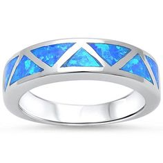 925 Sterling Silver Lab Created Blue Opal Inlay Ladies Wedding Engagement Ring Just @$19.21 $19.21 #thecaratclub #engagementring #engagement #ring #bling #instajewelry #diamond #marryme #ido #iloveit #jewellerygram #promisering #instajewellery #diamondsareagirlsbestfriend #weddingrings #diamondring #sapphire #weddingring #sparkly #jewels #diamonds #bvlgari #chopard #cartierring #greenweddingshoes #proposal #ohsoperfectproposal #engaged #💍 #ringbling