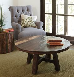 Odessa Round Coffee Table