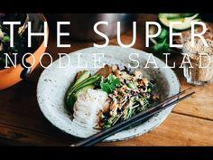 THE SUPER NOODLE SALAD w. TAHINI DRESSING | Good Eatings
