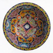 Ceramic Basin Round Small - A (Multi)