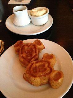 Allergy friendly Mickey Waffles from Kouzzina
