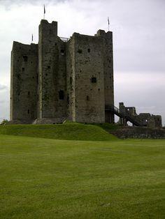 Trim Castle, the braveheart castle!