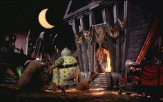 nightmare before christmas halloween town - Google Search