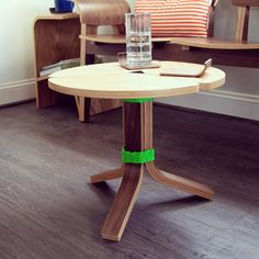One coffee table has made it to the bent ply prototype lounge. Im still working on the second in between orders