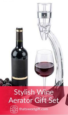 Wine Aerator - Major Wine Tips That Help You Make Smarter Choices Bacon Gifts, Different Wines, Spanish Wine, Wine Chiller, Wine Gifts, Couple Gifts, Fathers Day Gifts, Gifts For Him, Red Wine