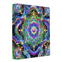 ☆SOLD!☆   #Mandala #Universe #Colors #Binder!   Many Thanks to the Customer! (ツ)  http://www.zazzle.com/mandala_universe_colors_binder-127330747281694134