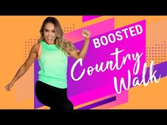 Country Tunes Power Walk - Shed the Pounds + Melt Fat Away 💪 - 18 minutes Outdoor Workouts, Easy Workouts, Zumba Workouts, Elliptical Workouts, Walking Exercise, Walking Workouts, Workout Videos, Exercise Videos, Exercise Routines
