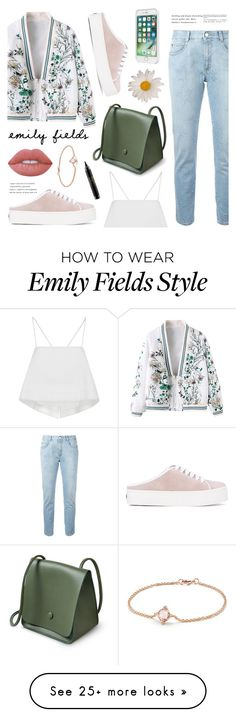 """""""Darude"""" by nadialesa on Polyvore featuring STELLA McCARTNEY, Opening Ceremony, A.L.C., Lime Crime, MAC Cosmetics, Laut, David Yurman and sneakers"""