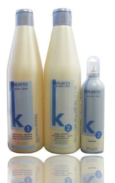 Salerm Keratin SET A by Salerm. $168.95. Keratin Shot Straightening Cream. Salerm Keratin Shot Maintenance Shampoo. Salerm Keratin Shot Serum. - Salerm Keratin Shot Maintenance Shampoo is suitable for straightened Hair Care.      - Keratin Shot Straightening Cream is a revolutionary treatment to aid the straightening process. It works by adding keratin and modifying the shape of the hair. This system has several benefits including the amazing recovery of natural moistu...