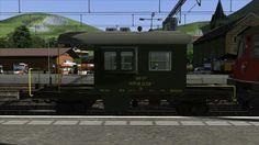 SBB CFF begleitwagen 'Sputnik' for TS2015