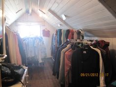 A bit of the attic, where clothes, coats, skirts, dresses, shoes, scarves, hats etc for men, women, kids & babies are...