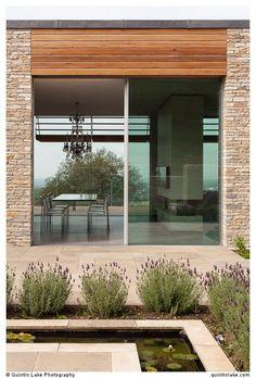 Modern glass doors -...