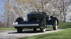 1936 Packard Twelve Gentleman's Tailback Speedster