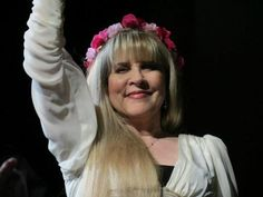 stevie nicks | Wearing the flower crown that I made!!!! <3