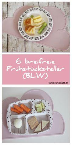 BLW Rezepte : 6 breifreie Frühstücksteller für Babys und Kleinkind - BLW Ideen - Frühstück für Kinder