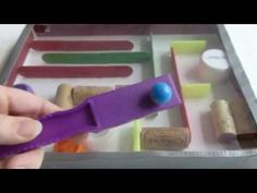 DIY Marble Run Toy from recycled materials - YouTube