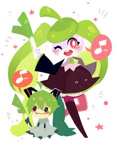 Mimikyu and Steenee