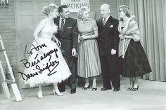 Doris Singleton Lucille Ball Lucy Vivian Vance in I Love Lucy Hand Signed | eBay