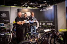 Les pro de l'electrification de vélo au Salon Velofollies 2016