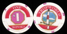 Atlantic City Casino Chip of the Day is a $1 Tropworld 1st issue.  TWD-1  Tropworld later turned to Tropicana and is still running today  http://www.all-chips.com/ChipDetail.php?ChipID=2742