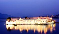 The Majestic Taj Lake Palace