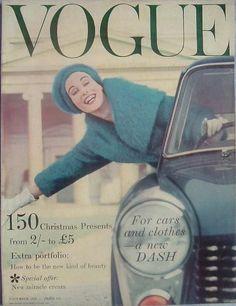 """""""Vogue"""" cover - November 1954"""