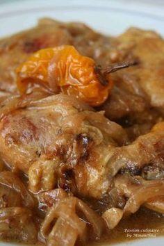 Poulet yassa (oignons/citron)