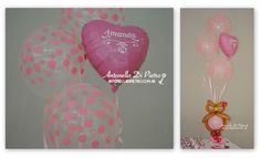 Bouquet de globos con lechuzas, globos personalizados, custom, ballon, owl, pink, babyshower, baby shower, birthday, party,