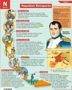 Mon Quotidien, the only news newspaper for children aged - Exposed sheet: Napoleon Bonaparte - French Classroom, History Classroom, French Language Lessons, French Lessons, French Education, French Expressions, French History, French Revolution, Napoleon