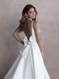 Style: 9813   Allure Bridals Wedding Dress Train, Bridal Wedding Dresses, Designer Wedding Dresses, Bridal Style, Bridesmaid Dresses, Allure Couture, Wedding Dress Boutiques, Bridal And Formal, Formal Wedding