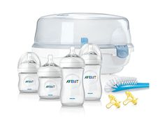 The natural way to bottle feed and sterilize #PhilipsAVENT #BottleFeeding http://www.usa.philips.com/c-p/SCD298_01/avent-essentials-set