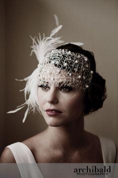 art nouveau wedding dress | Art Nouveau and Art Deco, Lindsay Fleming's collection of 1920s ...