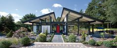 USA - HUF HAUS. Prefab housing from a German company. Sustainable designs.