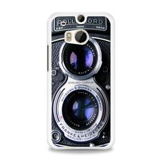 Vintage Camera Silver Lens iPhone HTC One M8 Case | yukitacase.com