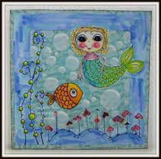 A card using Stampotique stamps :)