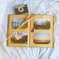 Спустя год:) Наконец-то заполнила ретро-альбом пленочными фотографиями прошлого лета. #vscocam #filmphotography #analogue #analogphotography #retrocamera #retro #vintage #album #summer #nature
