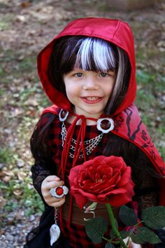 Ever After High Cerise Hood cosplay by cimmerianwillow on DeviantArt