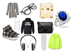 """""""Because love is amazing..."""" by racheldenisnefeke on Polyvore featuring Joie, Converse, Sugar Paper, Michael Kors, Bony Levy, Master & Dynamic, Kenzo, Bling Jewelry, black and GREEN"""