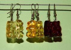 Gummy Bear Earrings    Based on Gummy Bear Earrings by Cat Morley