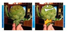 This week in The Kitchen, we came across a peculiar looking artichoke from the farmer's market. What did we think it looked like?