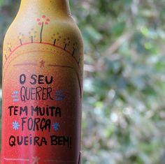 ♡ #garrafasdecoradas #garrafapersonalizada #garrafas #garrafaspersonalizadas #Poscas #MundoPosca #PoscaBrasil  #33crew  #canetaposca #eco #janela #feitoamao #artesanato #amor #decoração #presente