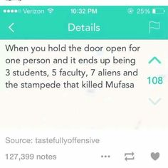 The stampede that killed Mufasa, lol