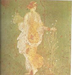 Moça a colher flores, cerca de 15 a.C.-60 d.C, 30 cm de altura
